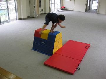 深川空手教室 跳び箱トレーニング5