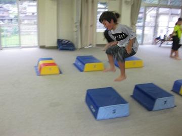深川空手教室 跳び箱トレーニング3