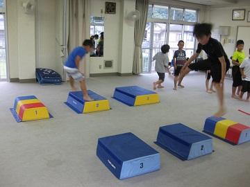 深川空手教室 跳び箱トレーニング4