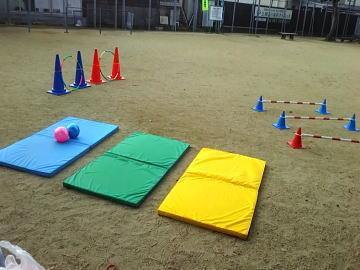 保育園 体操教室 ボール運動遊び2019-1-8