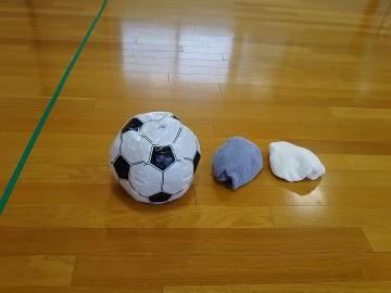 保育園 体操教室 ドッジボールの練習