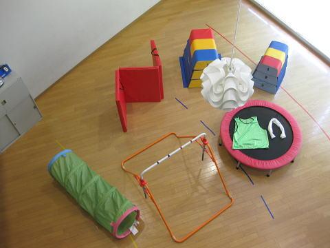 母子生活支援施設 運動あそび教室