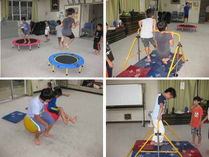 落合空手教室 サーキットトレーニング1
