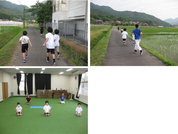 三田空手教室 外ランニング