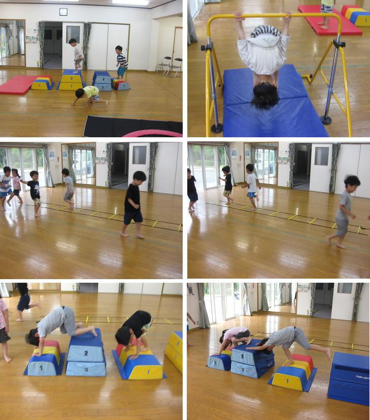6月 にんじゃとも影の運動遊び教室 活動の様子