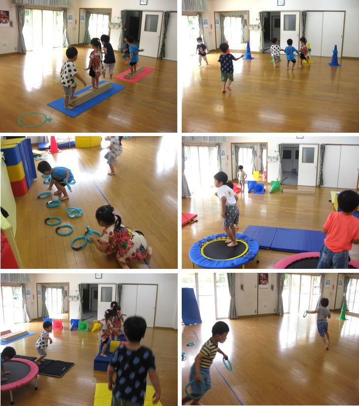 にんじゃとも影運動あそび教室 7月 幼児クラス