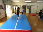 8月 小学生クラス にんじゃとも影の運動遊び教室