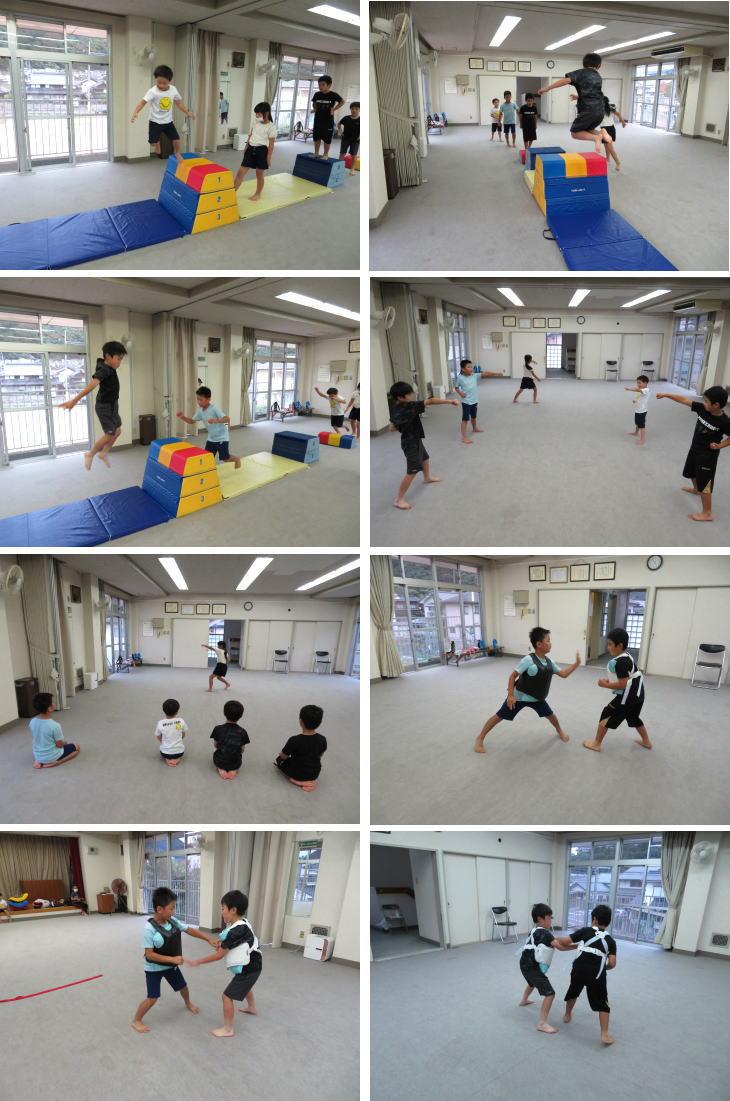 広島 安佐北区 深川 空手教室 前半 小学生クラス