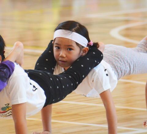 組体操 保育園