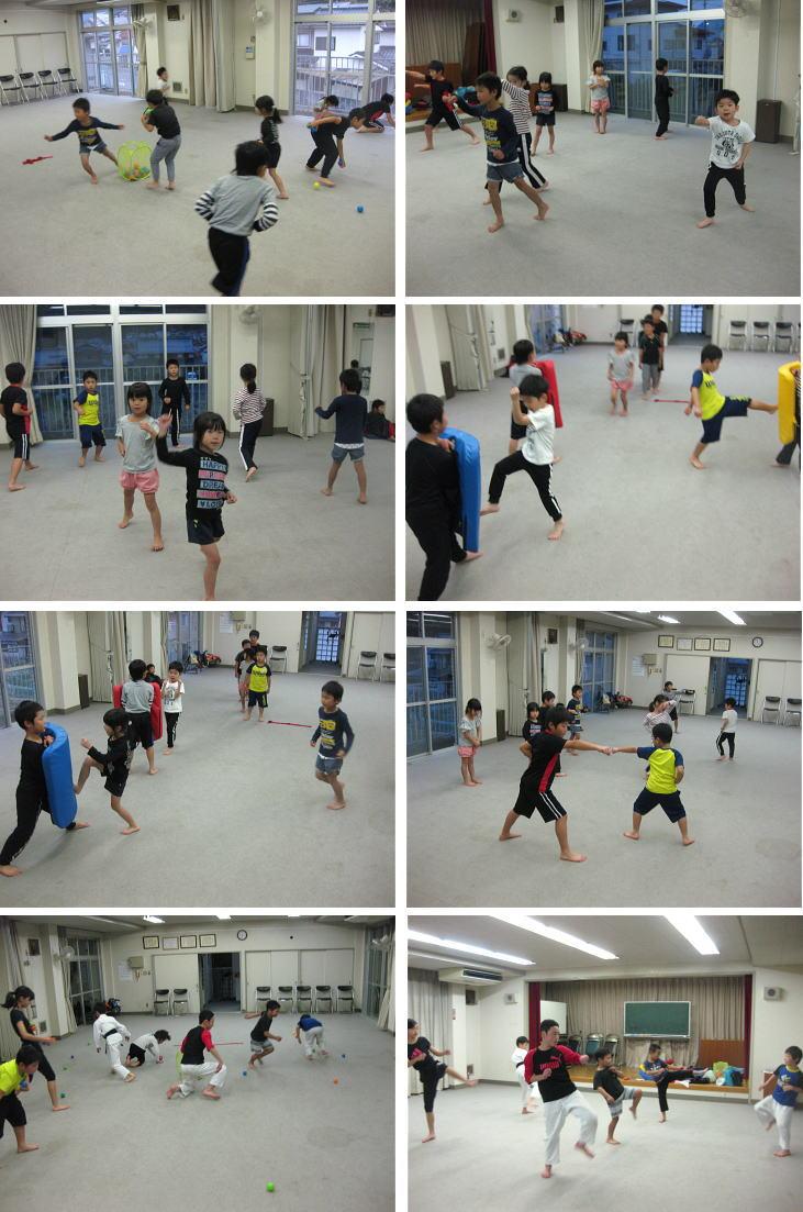 深川空手教室2018-11-16