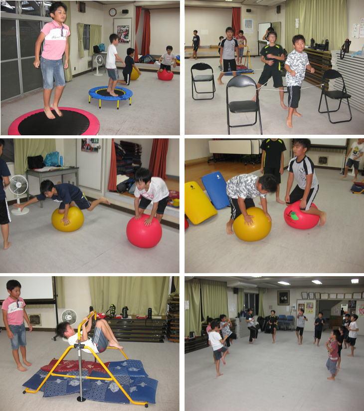落合空手教室 サーキットトレーニング2