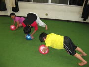 三田空手教室 ボールトレーニング