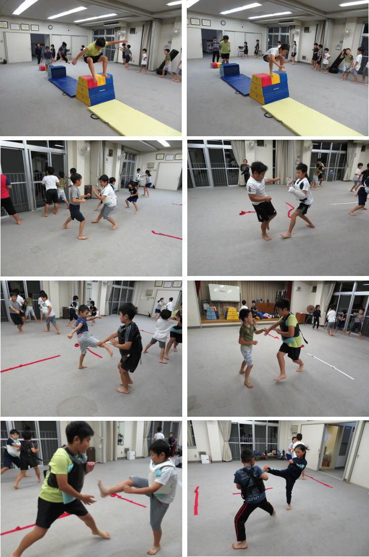 広島 安佐北区 深川 空手教室 後半 小学生クラス
