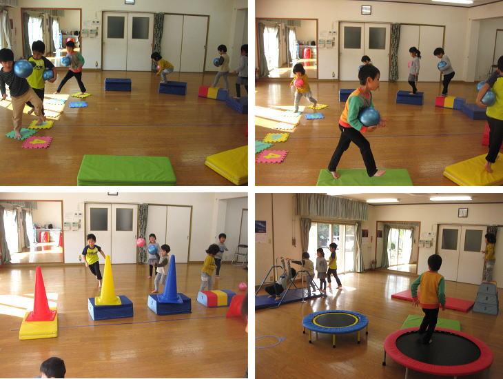 広島 安佐北区 運動遊び空手教室2