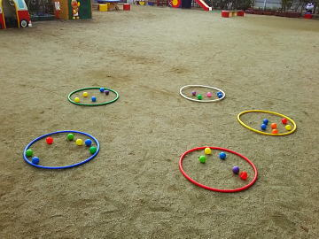 保育園 体操教室 ボールあそび 2018-12-19