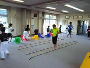 深川空手教室 ボールトレーニング