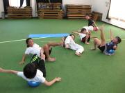 三田空手教室 ボールトレーニング2
