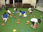 三田空手教室 マーカーコーントレーニング