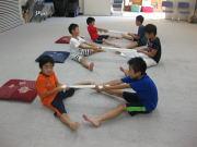 落合空手教室 タオルトレーニング