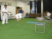 三田空手教室 大繩トレーニング