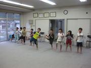 深川空手教室 突きの練習