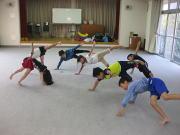 深川空手教室 体幹トレーニング