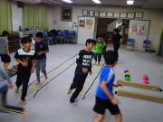 落合空手教室 平衡系トレーニング