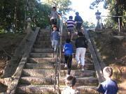 落合空手教室 階段トレーニング