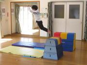 にんじゃとも影の運動遊び教室 跳び箱 ジャンプ