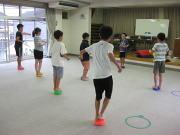 深川空手教室 バランストレーニング