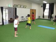 三田空手教室 形の稽古