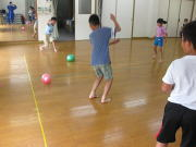 忍者とも影運動遊び教室 小学生 7月