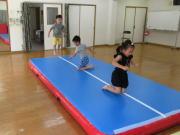 にんじゃとも影の運動遊び教室 8月 幼児クラス開催
