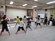 安佐北区落合 子ども運動空手教室