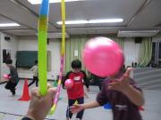 安佐北区 落合 子ども空手 ボールトレーニング