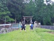 白木町三田 空手教室