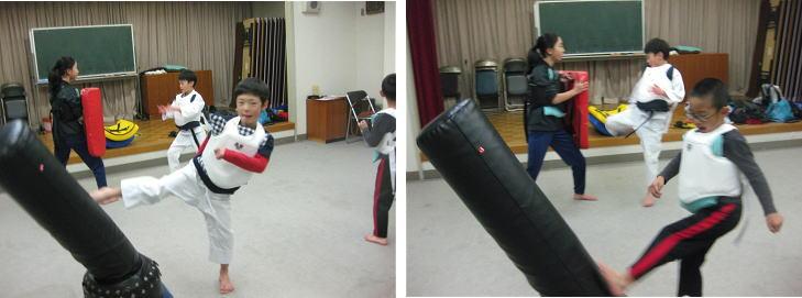 深川空手教室2018-12-7②