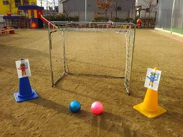 保育園 体操教室 2019-1-9 ボール運動遊び