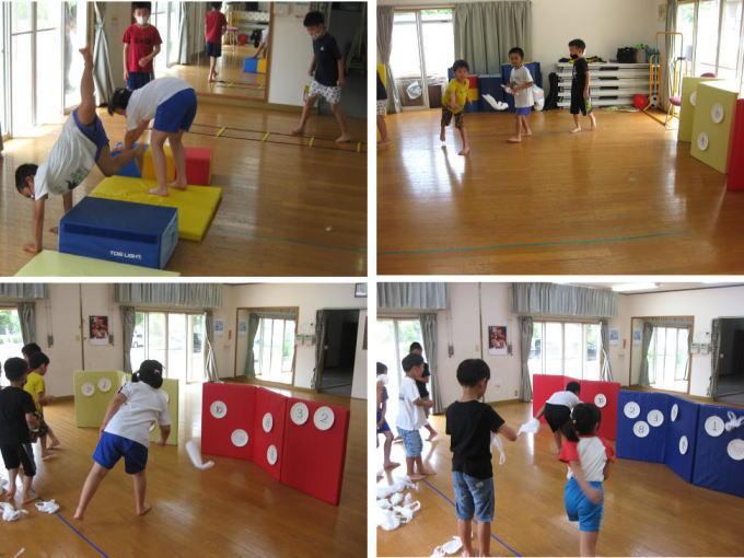 7月 にんじゃとも影の運動遊び教室 活動の様子