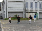 三田空手教室 ダッシュトレーニング