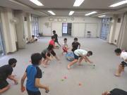 深川 空手教室 ボールトレーニング