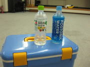 倉掛空手教室 水分補給