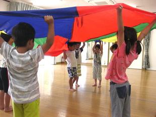 幼児体育・体育あそびのイメージ