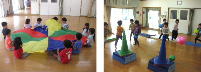 運動あそび教室 教室写真